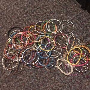 Bangle/ stretch bracelet lot